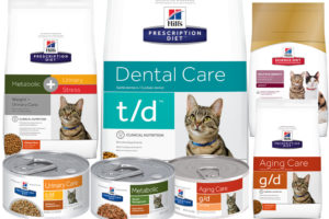 Prescription diet cat foods
