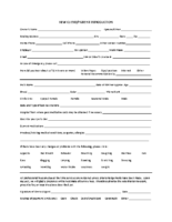 New Client Form